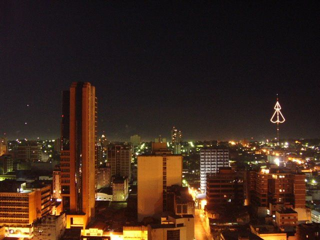 Панорама город Асунсьон
