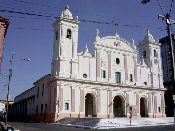 Собор города Асунсьон Парагвай