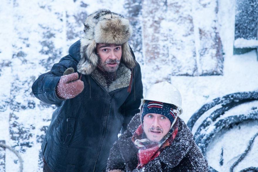 Смотреть бесплатно постеры и кадры к фильму Ледокол онлайн