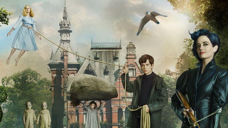 Скачать бесплатно постеры к фильму Дом странных детей в качестве 720 и 1080 hd