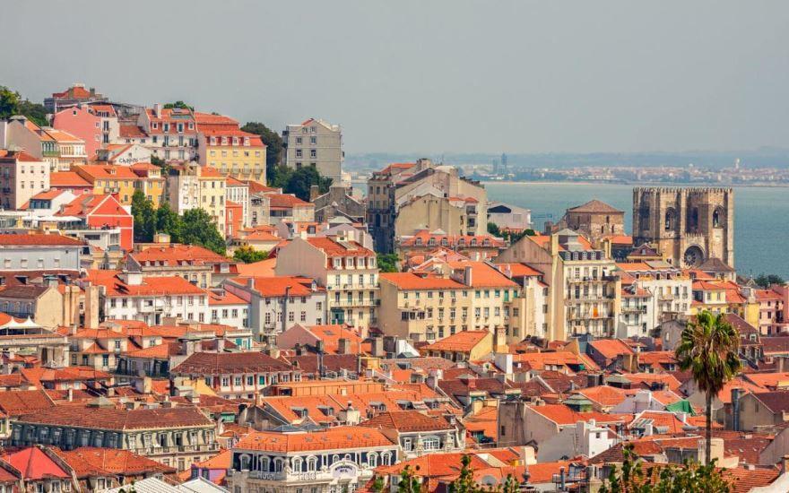 Панорама город Лиссабон