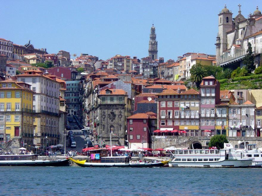 Смотреть красивое фото город Порту