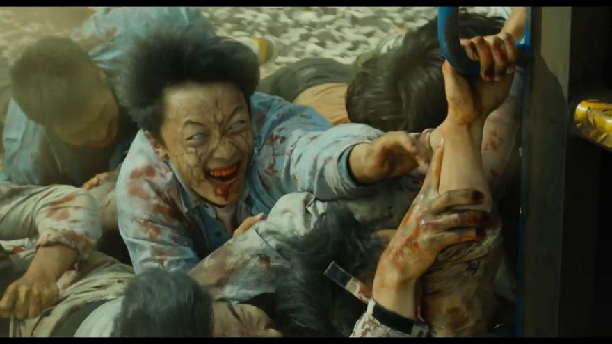 Бесплатные кадры к фильму Поезд в Пусан в качестве 1080 hd