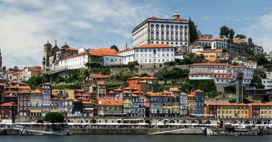 Фото города Авейру Португалия