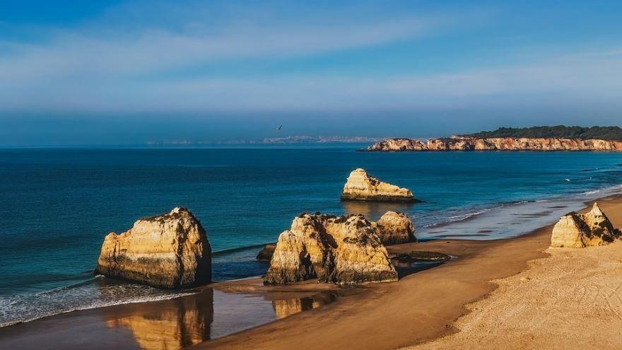 Фото города Алгарве Португалия