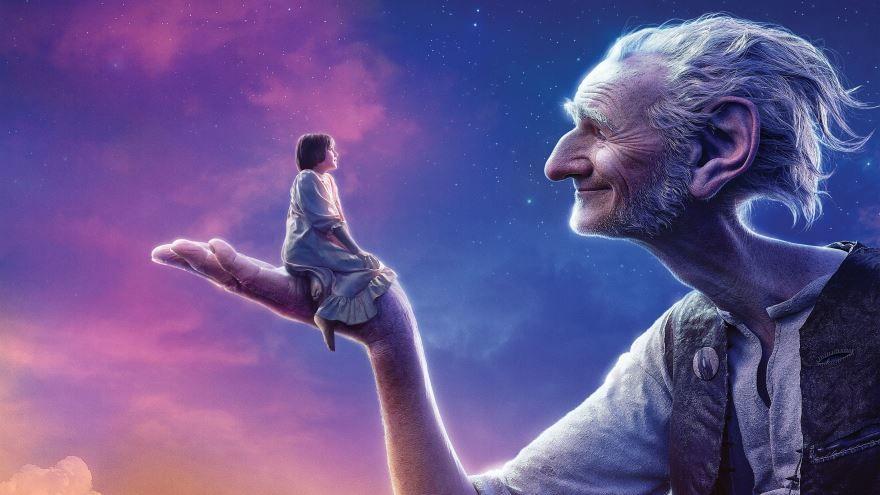 Скачать бесплатно постеры к фильму Большой и добрый великан в качестве 720 и 1080 hd