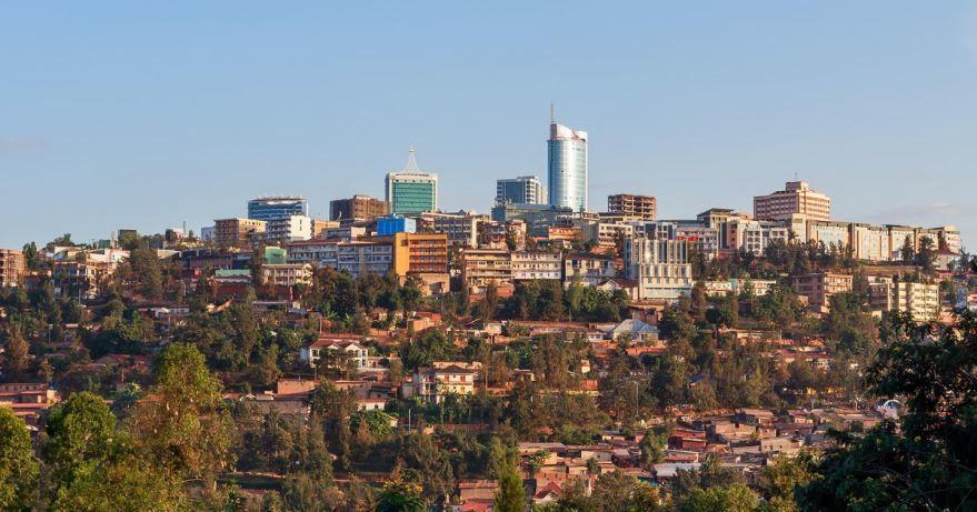 Вид на город Руанда