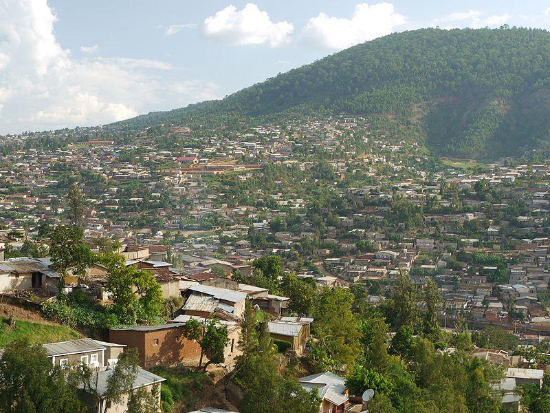 Панорама город Руанда