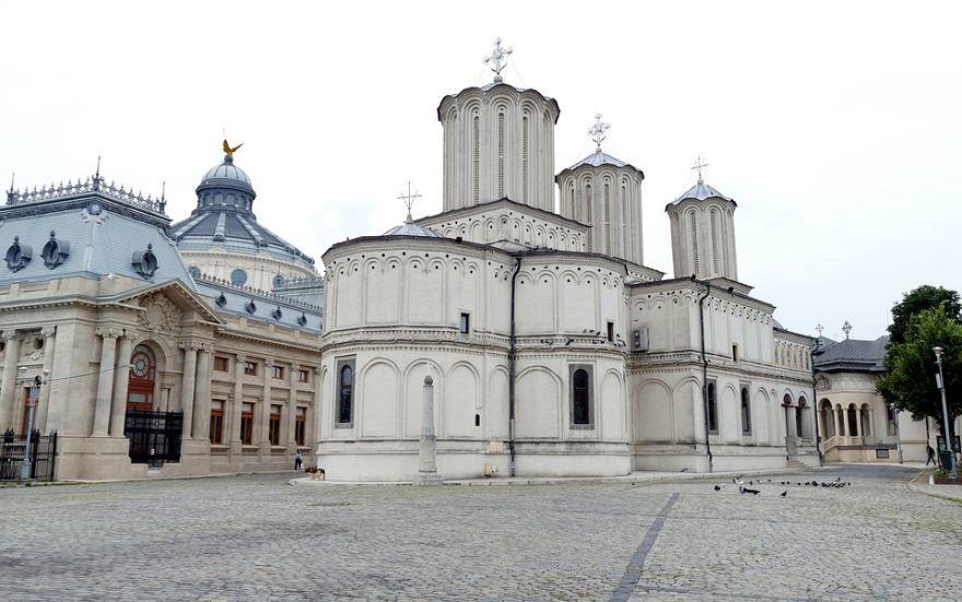 Собор города Бухарест Румыния