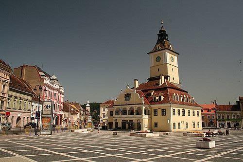 Фото города Брашов Румыния