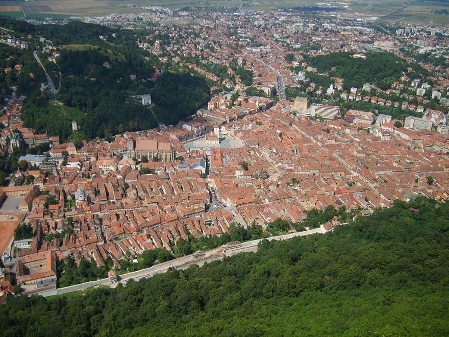 Панорама город Брашов