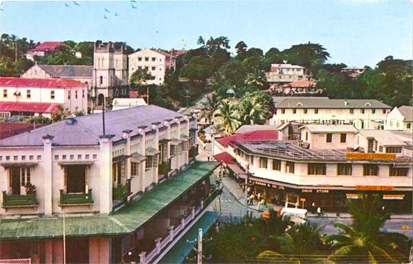 Фото города Сува Фиджи