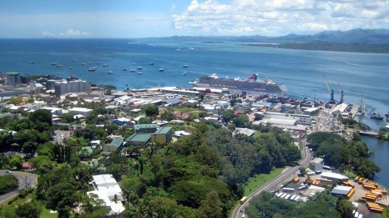 Панорама город Сува
