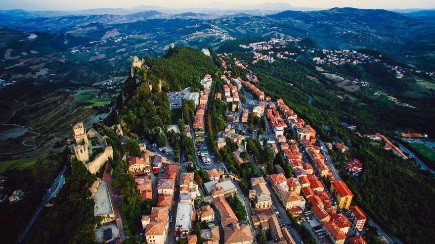 Панорама города Сан-Марино