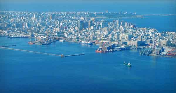Вид на город Монтевидео