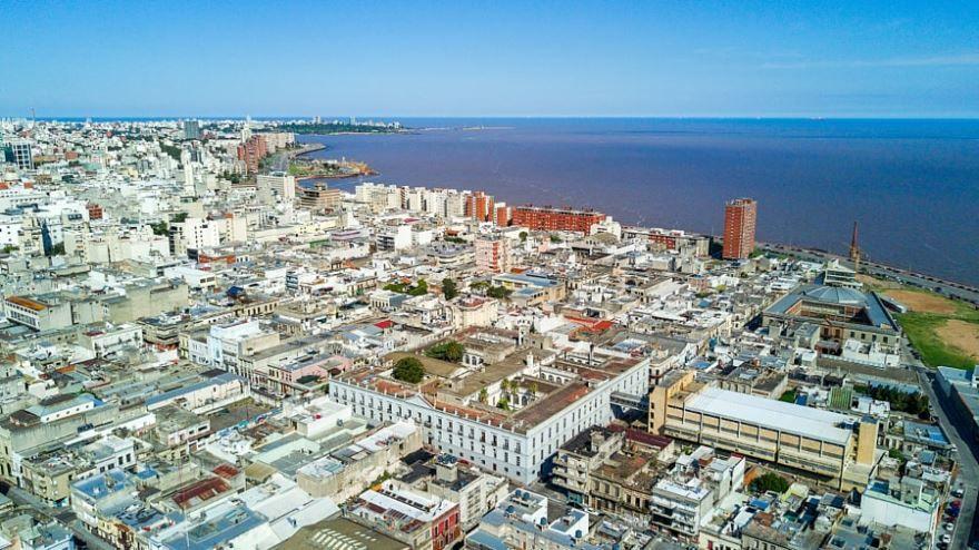 Старый город Монтевидео Уругвай