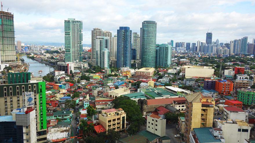 Панорама город Манила