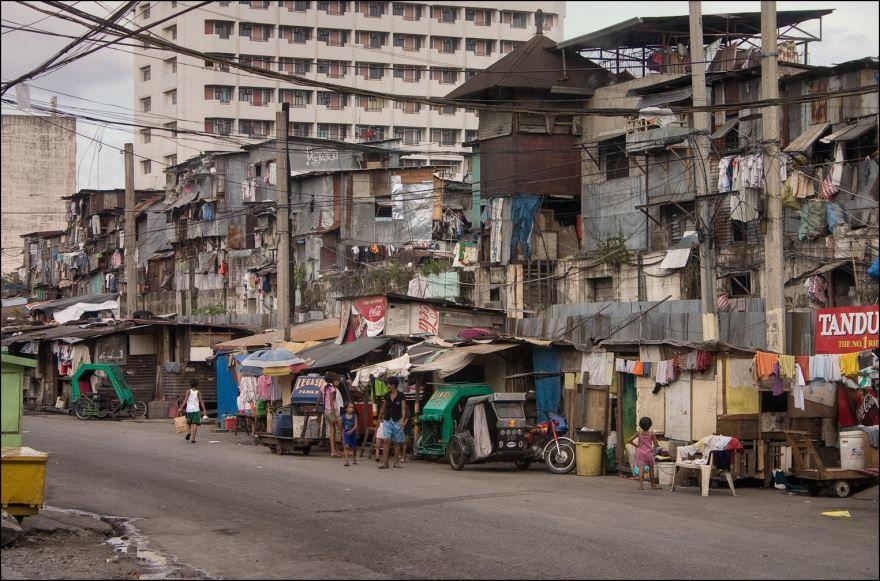 Улица город Манила