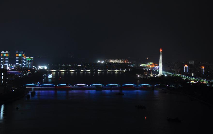 Фото города Пхеньян Северная Корея