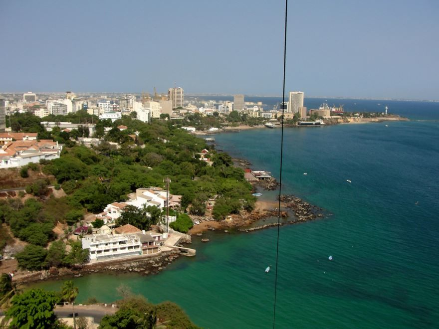 Фото города Дакар Сенегал