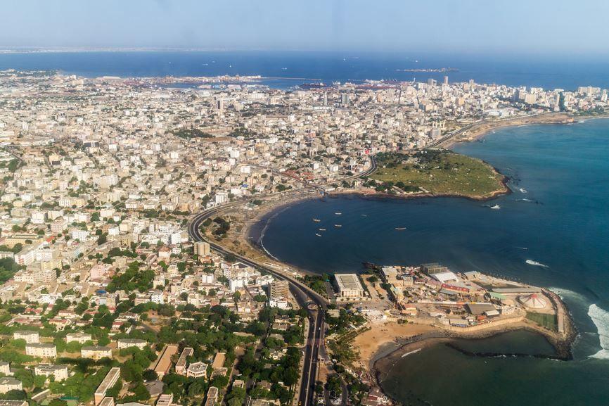 Панорама город Дакар