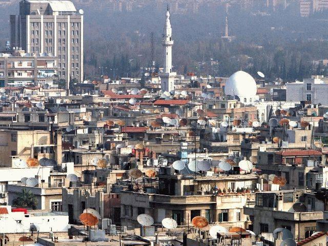Панорама город Дамаск