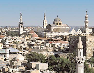 Скачать онлайн бесплатно лучшее фото город Дамаск в хорошем качестве
