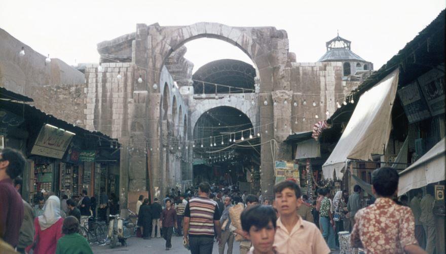 Фото города Дамаск Сирия