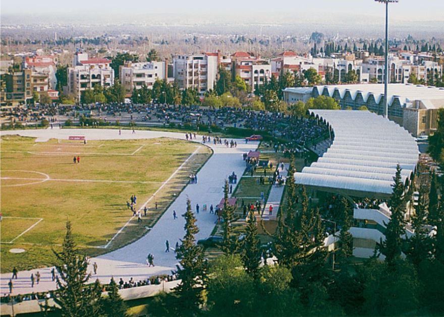 Стадион города Дамаск Сирия