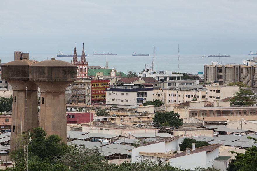 Вид на город Ломе