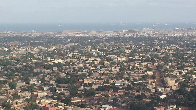 Панорама города Ломе Того