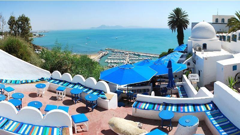 Смотреть красивое фото город Тунис