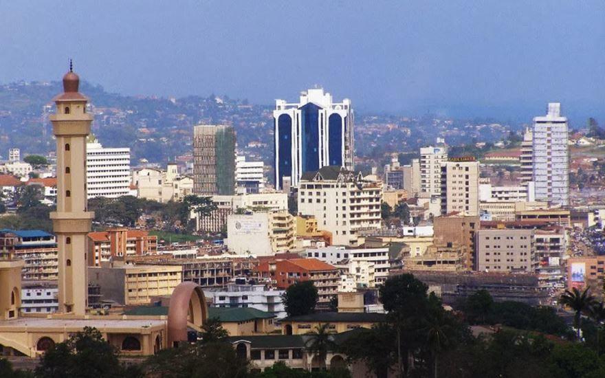 Вид на город Кампала
