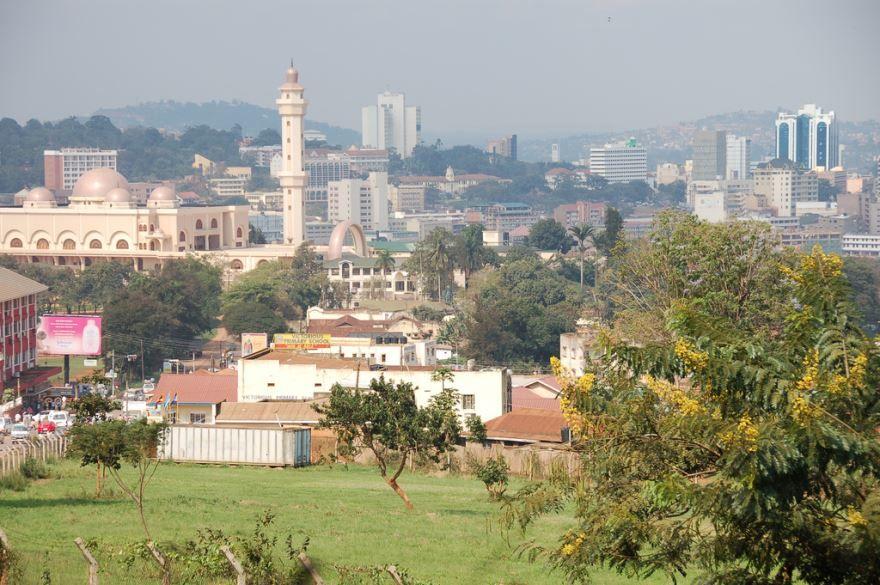 Смотреть красивое фото город Кампала