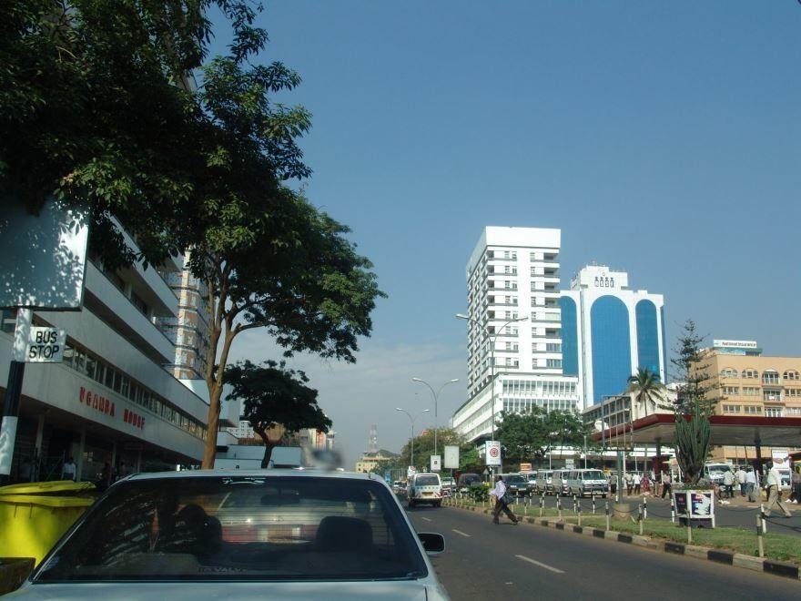Улица город Кампала