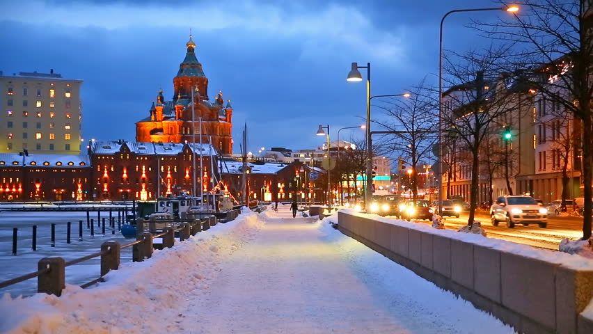 Смотреть красивое фото город Хельсинки