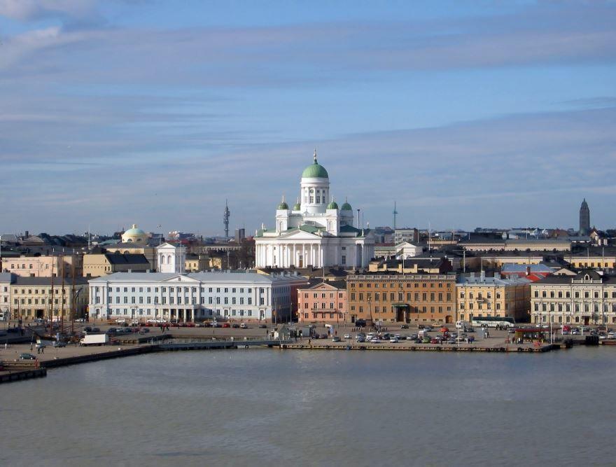 Фото города Хельсинки Финляндия