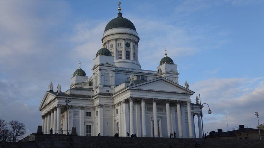 Кафедральный собор города Хельсинки