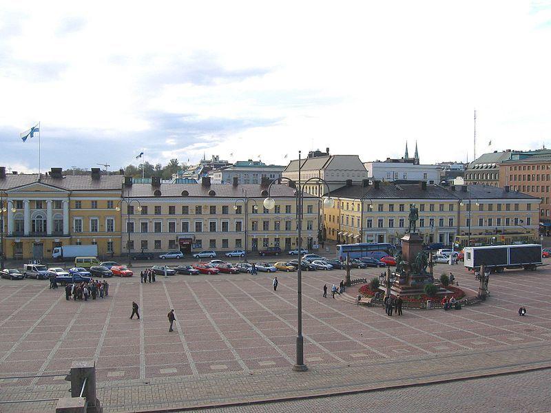 Сенатская площадь город Хельсинки