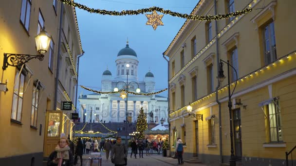 Улица город Хельсинки