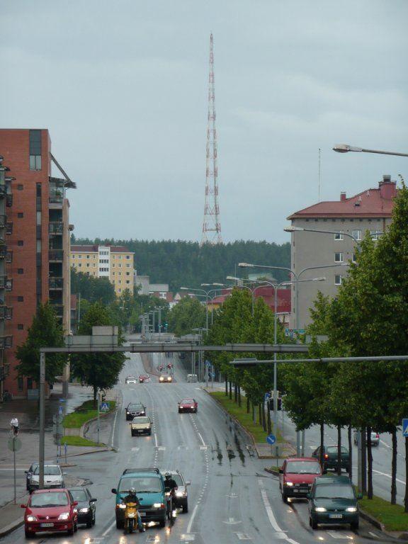 Улица город Лахти