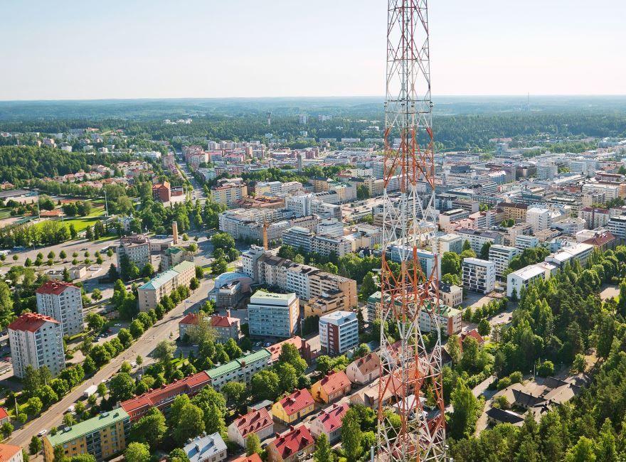 Фото города Лахти Финляндия