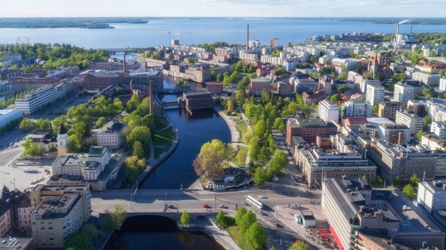 Фото города Тампере Финляндия