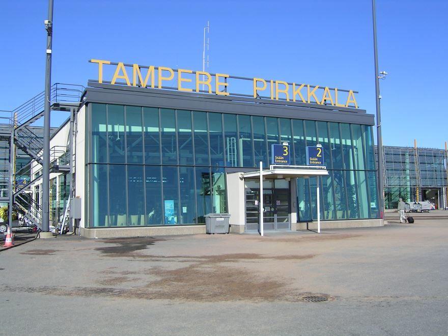 Аэропорт города Тампере Финляндия