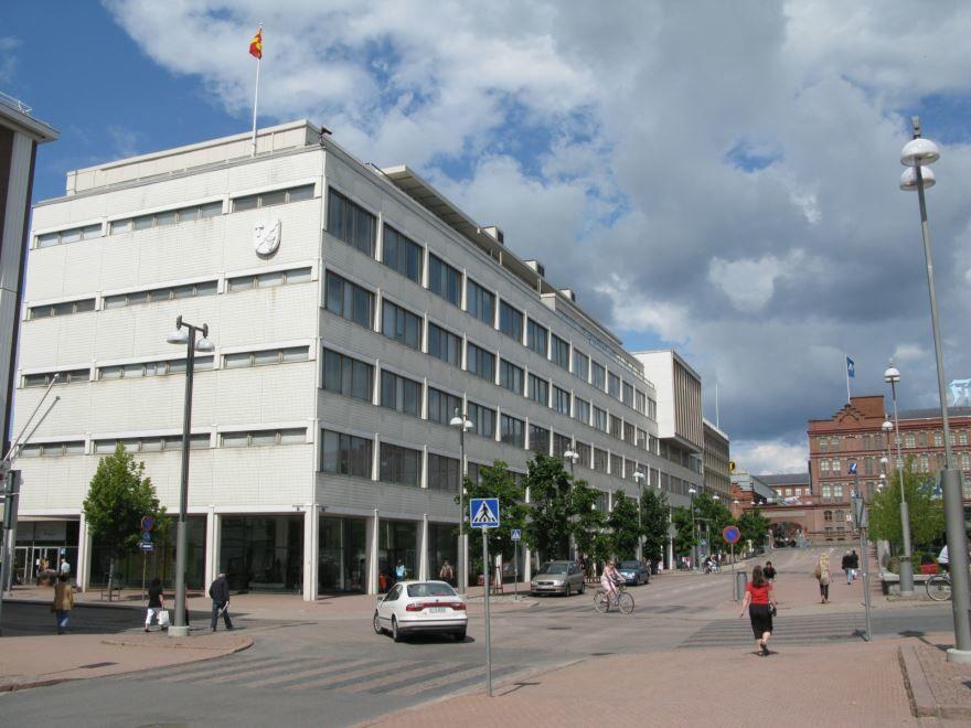 Улица город Тампере
