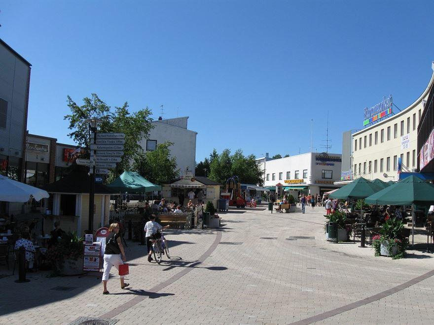 Улица город Иматра