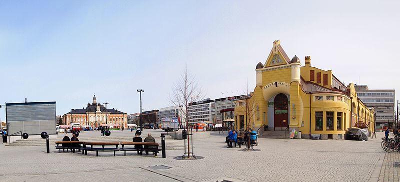 Фото города Куопио Финляндия
