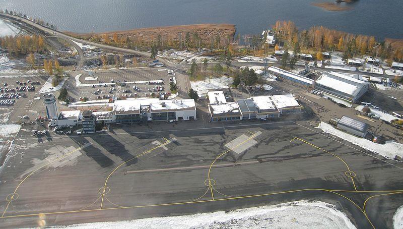 Аэропорт города Куопио Финляндия