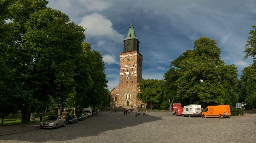 Церковь города Турку Финляндия