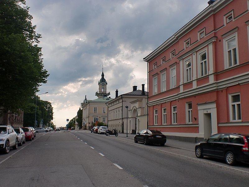 Фото города Пори Финляндия
